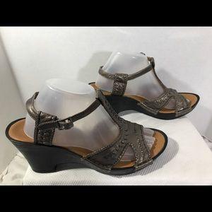 Clarks Bendables Wmn's Sandals Sz10 #A68